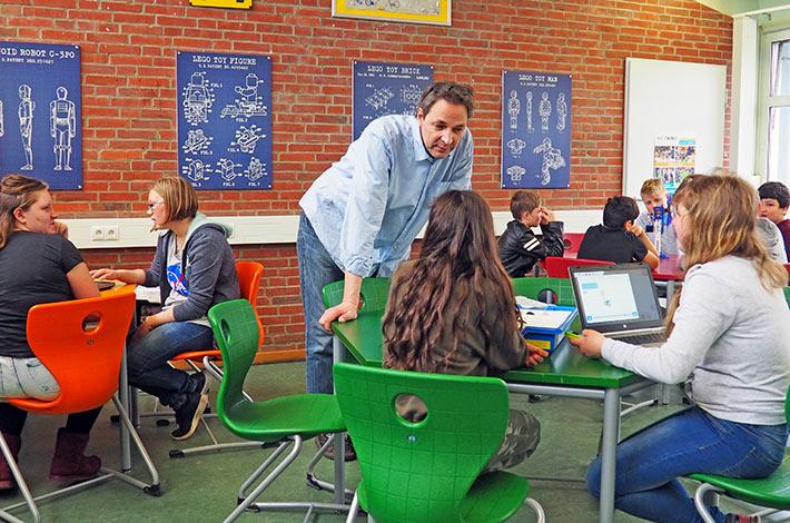 Junior Akademie Bernd Müller Klassenzimmer der Zukunft