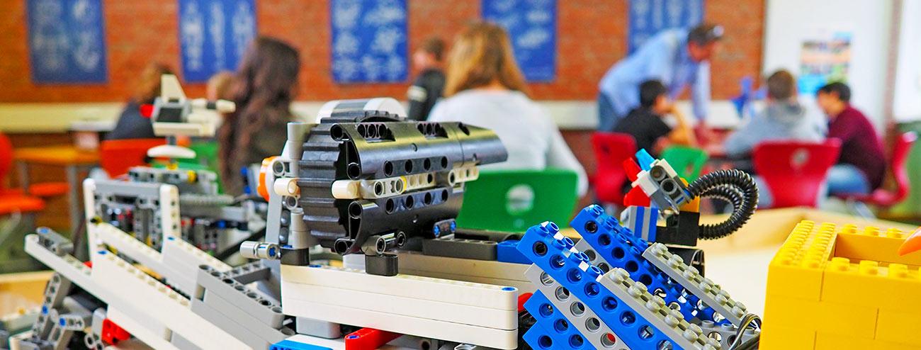 Junior Akademie Bernd Müller LEGO Lernsystem